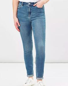 JOULES Monroe Skinny Jeans Light Denim Sz 10 RRP£59.95 FreeUKP&P