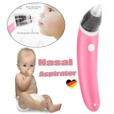 Elektrischer Nasensauger Baby Nasenreiniger Nase Reiniger Nasal Aspirator Rosa