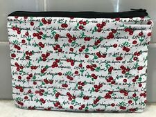Cherry Cosmetic Bag Pencil Case Make Up Bag