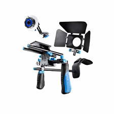 Morros DSLR Rig Movie Kit Shoulder Mount Rig with Follow Focus and Matte Box for