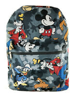 Disney Color Mickey Mouse All Over Prints School Backpack Bag For Children Kids