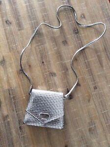 Vintage Fiorelli Metallic Crossbody Mini Bag Purse