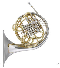 Blessing BFH-14161N French Horn Bb/F NEW Model fixed bell Silver/Gold IN Stock