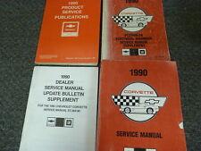 1990 Chevy Corvette Coupe Convertible Shop Service Repair Manual Set ZR1 5.7L V8