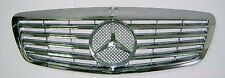 W221 07-09 Front Grille Mercedes Benz S-Class S550 S600 All Chrome New Style