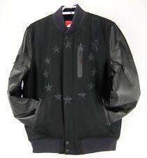 Mens Nike Air Destroyer Black Wool Leather Varsity Jacket Size XL 802644 New