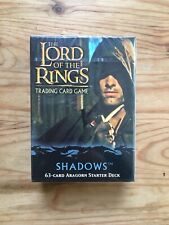 Lord of the Rings TCG Shadows Aragorn Starter Deck Sealed
