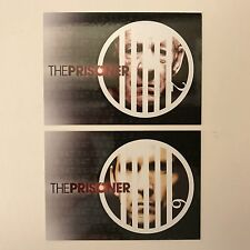 PROMO CARDS: THE PRISONER Recent MINI-SERIES FACTORY ENT: 2 DIFFERENT #P1 & #P2