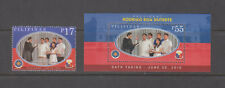 Philippine Stamps 2016 Pres. Duterte Inauguration Complete set MNH