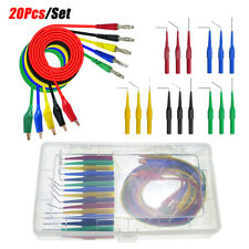 20 PCS/Set SG Test Tool Aid 23500 Back Probe Kit Identified Probe for Automotive