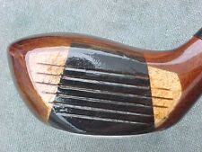 PERSIMMON Northwestern Golf Club Wood Driver w S Graphite & New Tour Wrap Grip