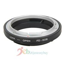 FD-EOS Ring Adapter Lens Adapter FD Lens to EF for Canon EOS Mount Camera Black