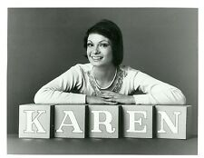 KAREN VALENTINE SMILING PORTRAIT BLOCKS KAREN TV SHOW ORIGINAL 1975 ABC TV PHOTO