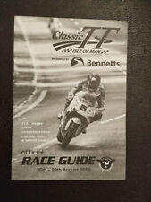 MOTORCYCLE RACING ISLE OF MAN MANX TT TOURIST TROPHY RACE GUIDE 2016