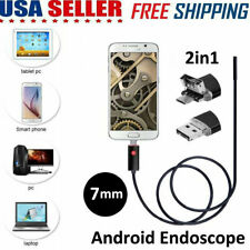 OTG & Micro USB Inspection Eorescope Camera For Android Phone & Computer PC US