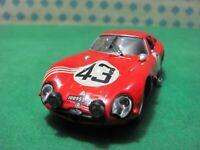 """Alfa Romeo Giulia Tz 2 Coupé Autodelta """" le Mans 1965 """" - 1/43 Best 9500 L. Ed"""