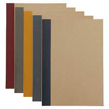 MUJI Notebook / A5 6mm 30sheets / 5 color set / Japan