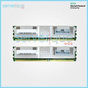 397415-B21 HP 8GB (2x4GB) PC2-5300 DDR2-667MHz 240-Pin CL5 Dual Rank Memory Kit