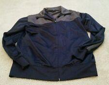 NordicTrack Full Zip Light Jacket - Gray - Men's Medium M Long Sleeve