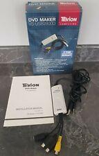More details for tevion dvd maker vs-usb2800d : av / s-video usb mpeg 4 capture device
