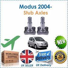 für Renault Modus 1.2i 1.4i 1.4TD dCi 1.6i 2004- HECK Stummel Achsen X2 NEU
