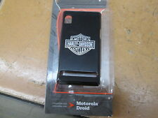 Harley Davidson Fuse Black Moto Droid B&S Cell Phone Shell Case Cover FG07103