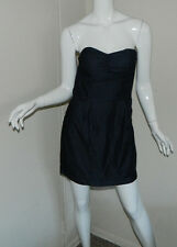 Women Baby Phat Jeans Solid Dark Blue Sleeveless Casual Party Dress Size 7
