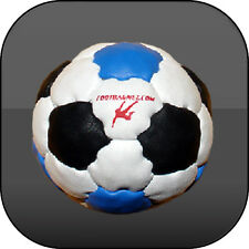 FOOTBAG BLIZZARD 32 PANELS, NET GAME, HACKY SACK, AKI