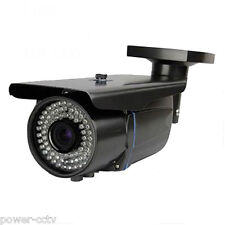 1300Tvl Varifocal Zoom 72Ir Ir-Cut Bullet Weatherproof Security Camera System