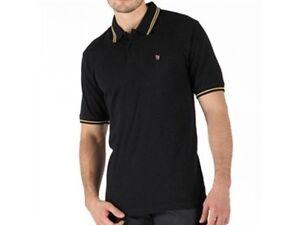 Fenchurch Men's Black & Yellow Polo T Shirt Top - Small Free UK Shipping BNWT