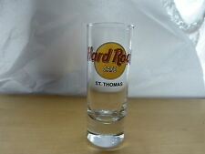 "Hard Rock Cafe Shot Glass 4"" - St. Thomas"
