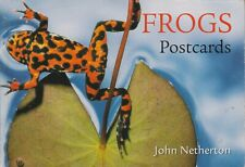A book of 22 Postcards of Frogs by David Badger (1996, Paperback)