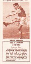 Y314 IMAGE FOOTBALL  offert par les Biscuits REM REIMS Michel LEBLOND