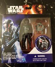 "FIRST ORDER TIE FIGHTER PILOT ELITE Star Wars Armor Up 3.75"" Figure Toy DMG PKG"