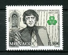 Monaco 2017 MNH Anthony Burgess Birth Centenary 1v Set Writers Literature Stamps