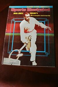 SPORTS ILLUSTRATED - January13, 1975 - Bill Tilden His triumphs & tragedy