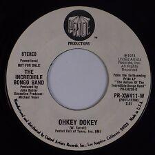 INCREDIBLE BONGO BAND: Ohkey Dokey USA Pride Promo Funk Breaks Soul 45 HEAR