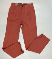 Orvis Men's Pants Salmon Cotton Style OR-8A3K Missing Brand Tag - Size 32