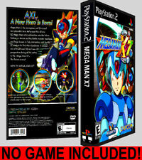 Mega Man X7  - PS2 Reproduction Art DVD Case No Game