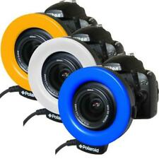 Polaroid 48 Macro LED Ring Flash & Light Includes 4 Diffusers For Sony Alpha