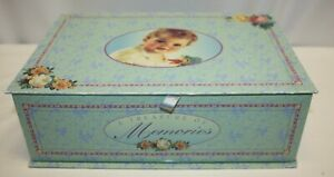 "Vintage Memory Box for Baby Items – 14"" x 9.5"" x 4.75"""