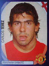 Panini 246 Carlos Tevez Manchester United UEFA CL 2007/08