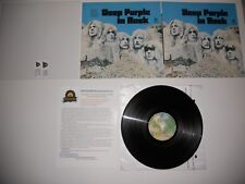 Deep Purple in Rock Analog Mint '76 Japan RARE ARCHIVE MASTER Ultrasonic CLEAN