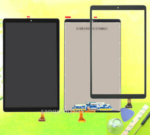 F for samsung galaxy tab 10.1 2019 t515 sm-t510 touch screen/lcd display