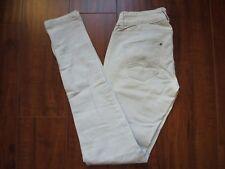 Zara TRAFALUC  Zipper Gray size 4 Skinny Denim Jeans Women's Pants