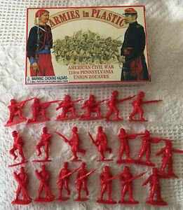 Armies In Plastic 114th Pennsylvania Zouaves