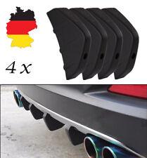 4x Universal Hinten Stoßstange Diffusor Schutz Zierleisten Flügel Heckspoiler