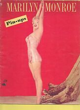 MARILYN MONROE Pin-ups 1953 MACO BANNED Magazine + BONUS (replacement copy) !!!