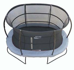 10ft x 15ft Oval Telstar Jump Capsule MK3 Trampoline Package