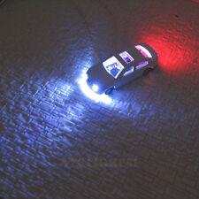 12 Stück N Maßstab Modell beleuchtete Autos mit 12V LEDs leuchtet